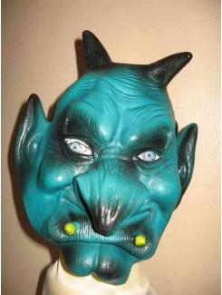Masque Démon vert