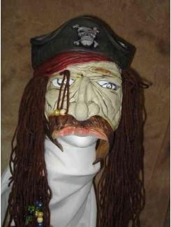 Masque Pirate capitaine