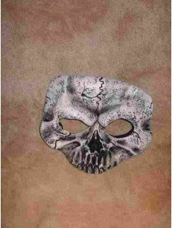 Masque Squelette mini blanc