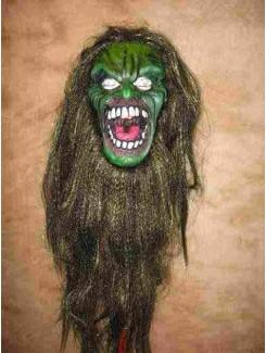 Masque Monstre vert