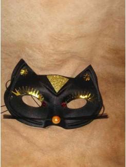Vénitien chat noir