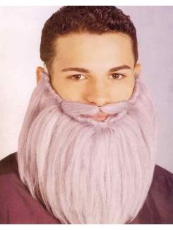 Barbe en laine grise