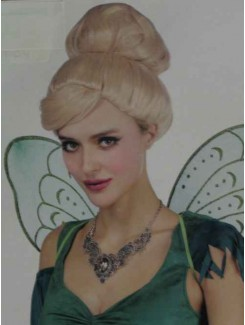 Perruque Chignon blond