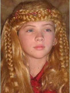 Perruque médiévale blonde