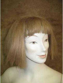 Perruque Carré brune pâle