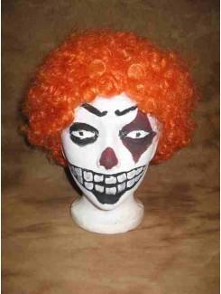 Perruque Clown orange