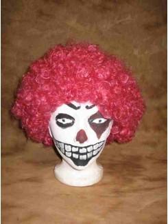 Perruque Clown rose