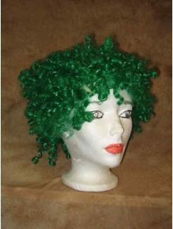 Perruque Clown vert forêt