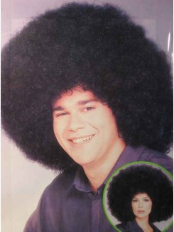 Perruque afro disco