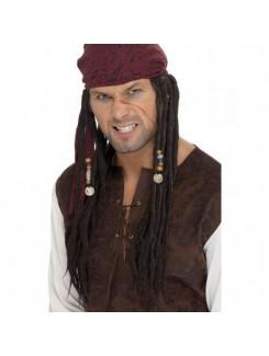 Perruque Bandeau pirate