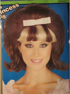 Perruque Princesse 1960
