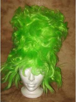 Perruque Folie vert
